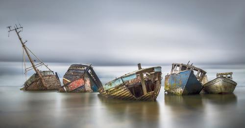PDI Open Colour MCPF Ribbon Old Boats Graveyard Fiona Adamson England