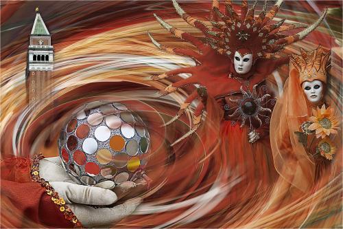 PDI Creative FIAP Ribbon Carnival Magic Paul Jackson England