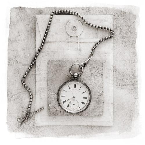 PDI Open Monochrome FIAP Ribbon The Timekeepers Pay Packet Stan Farrow Scotland