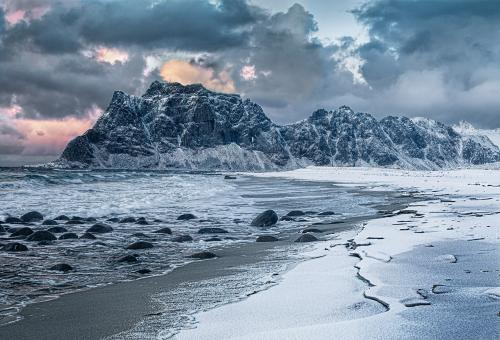 PDI Scapes MCPF Medal Stormy Light over Utaklei Beach Dave Coates  Robin Couchman England