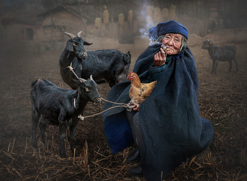 FIAP Ribbon - The Goat Lady - Ching Ching Chan - Hong Kong