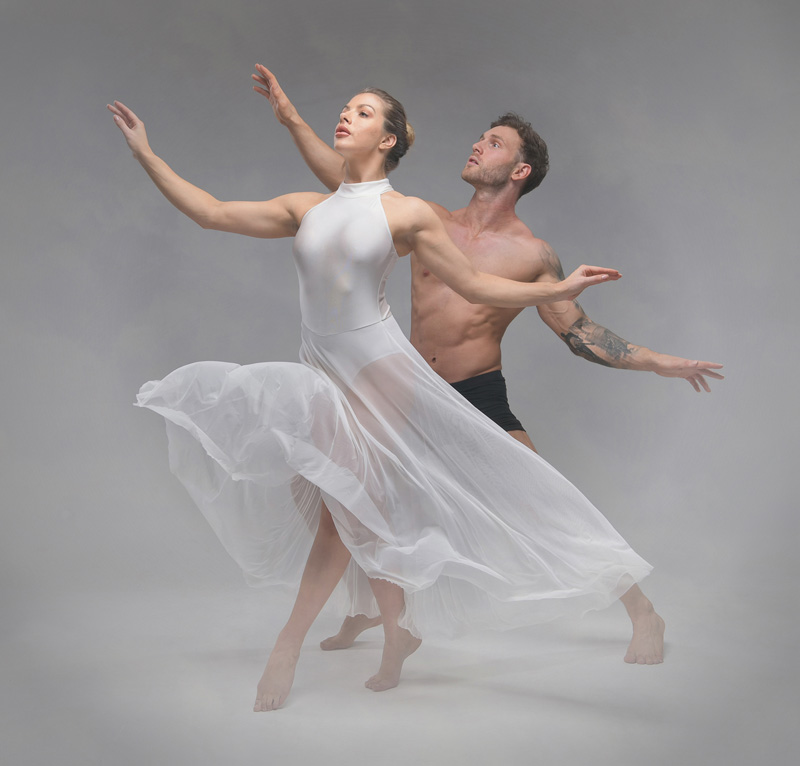 GPU Ribbon - Snow Dancers - Wendy Anne Allard FRPS EFIAPb CPAGB PPSA - England
