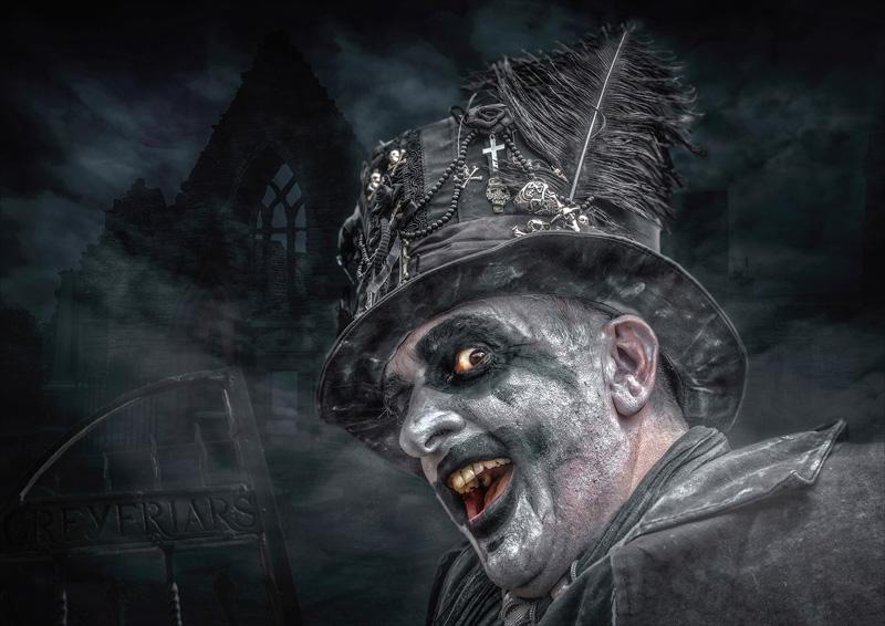 MCPF Ribbon - The Undertaker - Bruce Harley CPAGB - Scotland