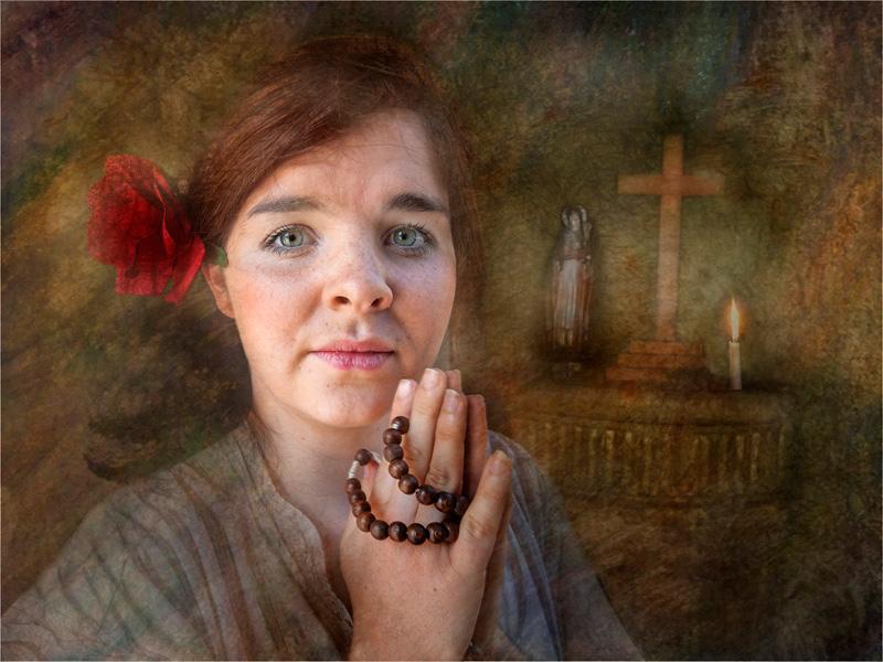 PAGB Ribbon - The Rosary - Peter Siviter EFIAP DPAGB - England