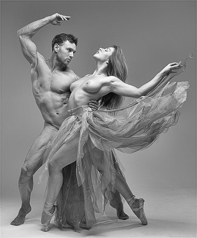 FIAP Ribbon - Dynamic Dance - Malcolm Jenkin EFIAPd1 GMPSAg CPAGB BPE4 - England 1