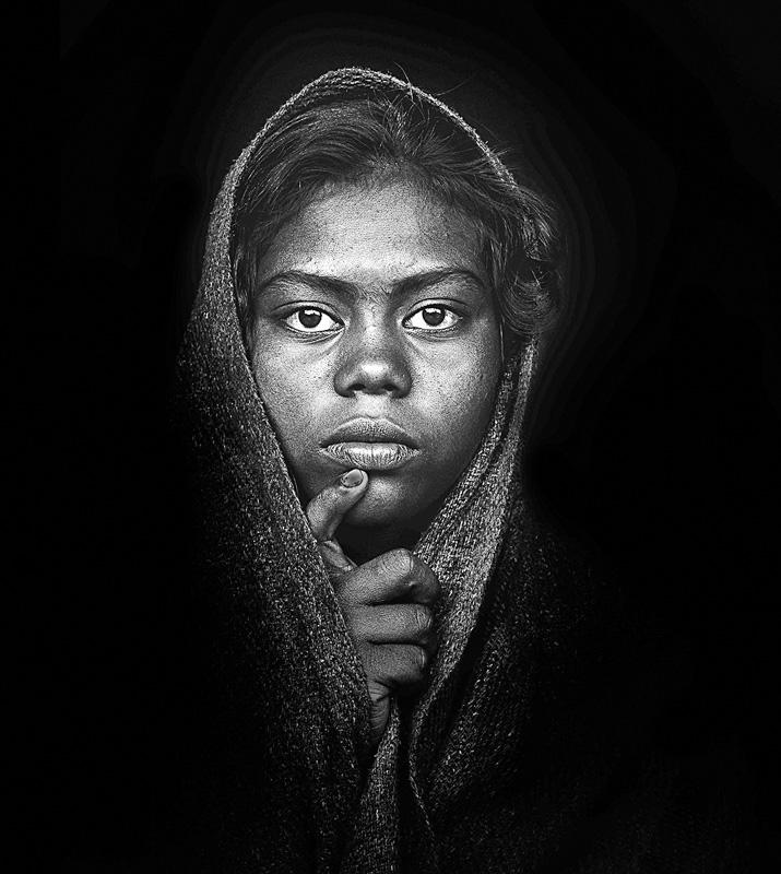 MCPF Ribbon - Sabar Girl 0689 - Dilip Desarker EFIP FPPS - India 1